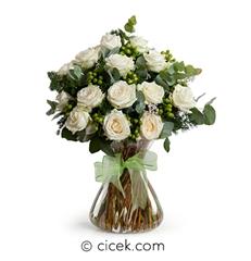 Temiz Duygular Çiçek Aranjmanı