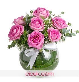 Romantik Sürpriz Pembe Güller