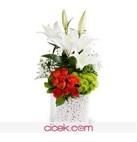İçten Bir Tebessüm Çiçek Aranjmanı